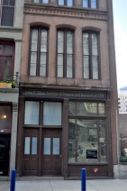 Only a facade: This building no longer serves its original function. However, the outside had been preserved to maintain its historical style