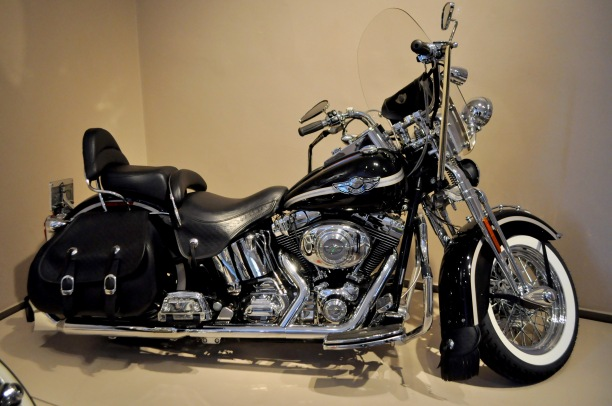 """An example of a """"Panhead"""" Harley"""