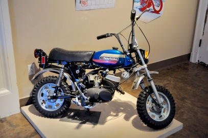 An example of a Harley dirt bike.